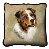 Australian Shepherd Pillow