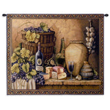 Wine Tasting Small Wall Tapestry