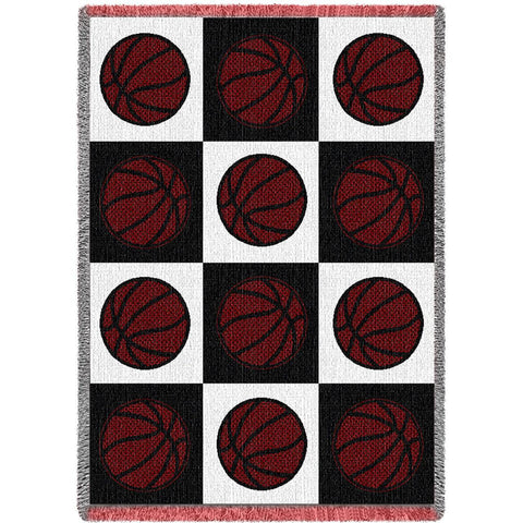 Basketballs Blanket