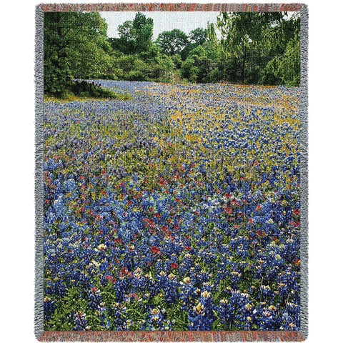 Bluebonnets Blanket