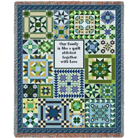 Cool Family Quilt Blanket