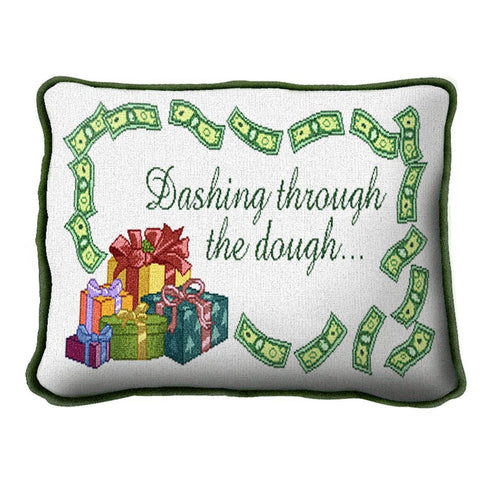 Dashing Through The Dough Pillow