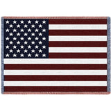 American Flag Mini Blanket
