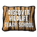 Discover Wildlife Pillow