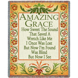 Amazing Grace Decor Blanket