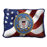 Coast Guard Logo Pillow