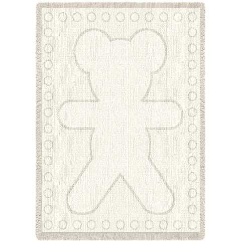 Big Teddy Natural Small Blanket