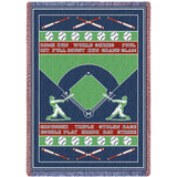 Baseball Field Blanket