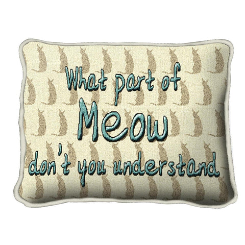 What Part Of Meow Pillow