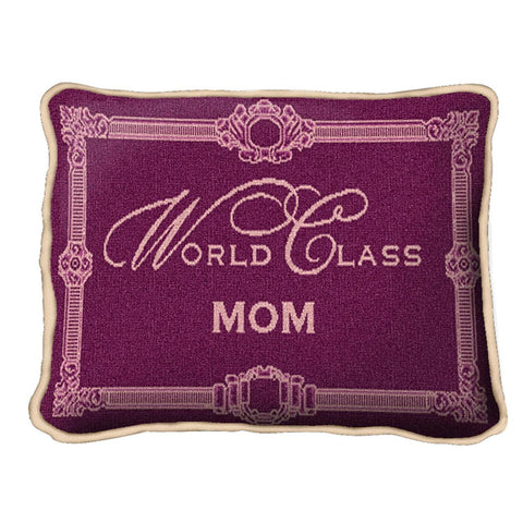 World Class Mom Pillow
