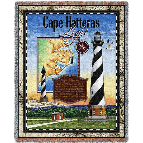 Cape Hatteras Lighthouse Blanket