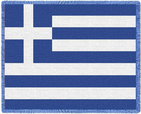 Greek Flag, Flag of Greece Blanket