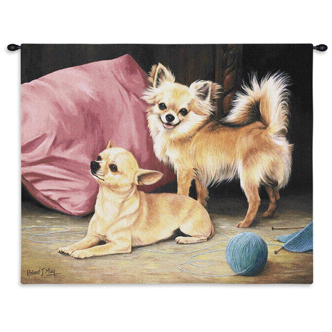 Chihuahua Wall Tapestry
