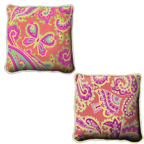 Paisley Pink Pillow