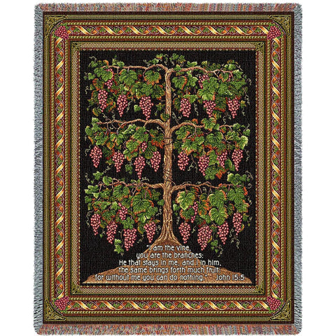 The Grape Vine Blanket