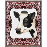 Bandana Cow Blanket