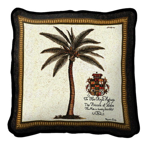 Royal Palm Prince Wales (B) Pillow