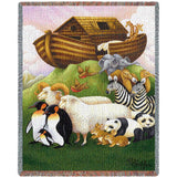 Exiting The Ark Mini Blanket