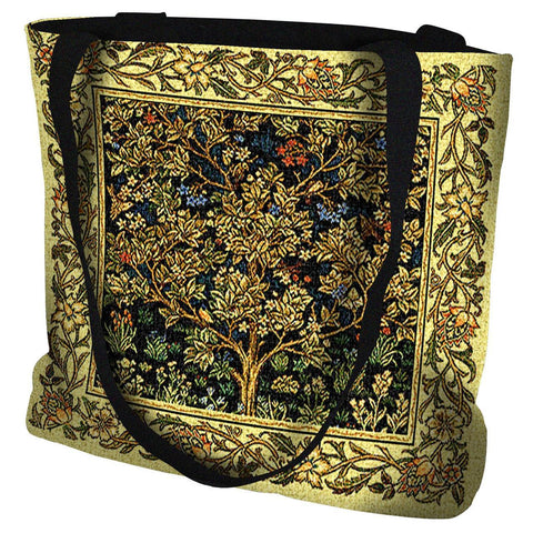Tree of Life Bag Midnight Blue Tote Bag