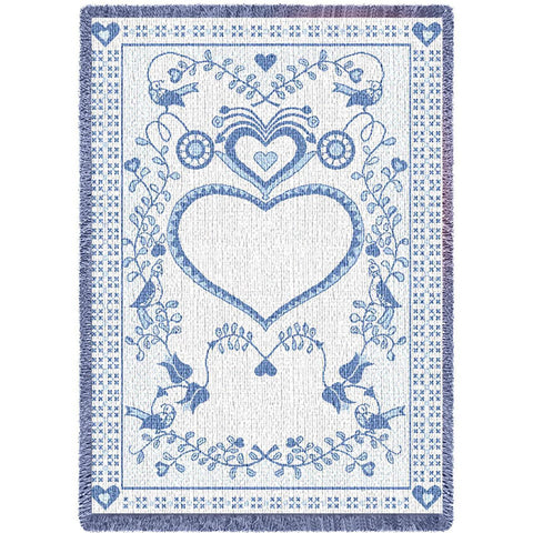 Germanic Fresh Blue Small Blanket