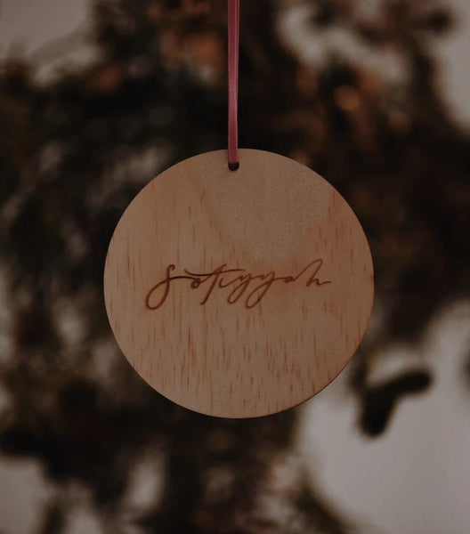 Round Gift Tags / customisable + more options