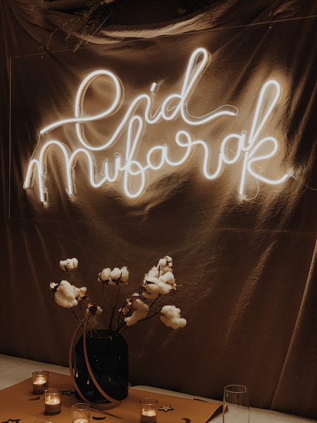 The Neon Eid Mubarak Sign