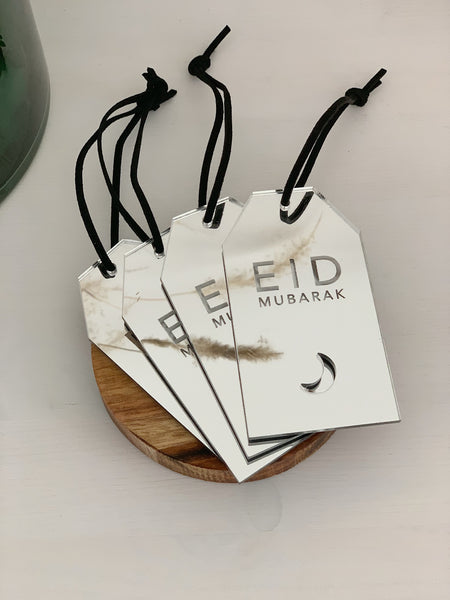 Eid Mubarak Gift Tag / Set of 4