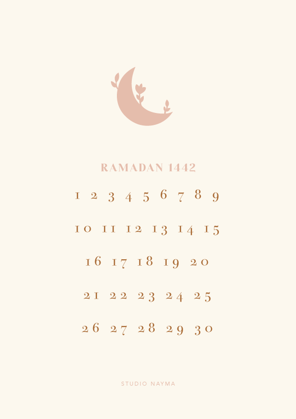 The Ramadan Calendar / digital download