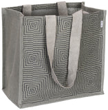 'JAKAR' Jute / Hessian eco friendly Reusable Shopping Grocery Tote Bag