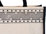'BHRASTA' Juco/Jute eco friendly Reusable Shopping Grocery Tote Bag