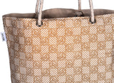 'JOLI' Canvas eco friendly Reusable Shopping Tote Hand Bag