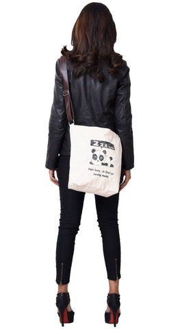 'BAO' Canvas eco friendly Reusable Shopping Tote Sling Bag