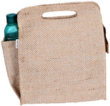'DILLY' Juco/Jute eco friendly Reusable Lunch Bag
