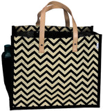 'BUDAE' Jute/Hessian eco friendly Reusable Shopping Grocery Tote Bag