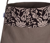 'AKPA' Canvas & Kalamkari cotton eco friendly Shopping Tote Bag