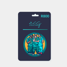 Load image into Gallery viewer, ECG Clinical Wear Gift Card R800