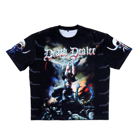 'Death Dealer II' Graphic Tee (Drop Shoulder)