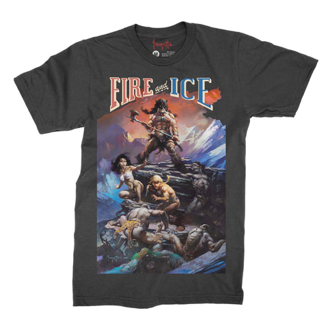 Frank Frazetta RED Classic Signature T-Shirt