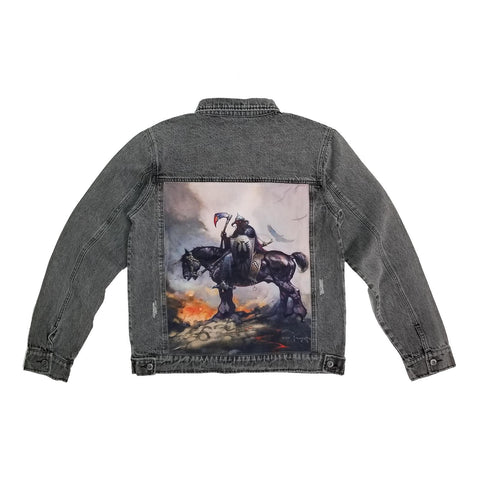 "Frazetta ""Death Dealer"" Denim Jacket"