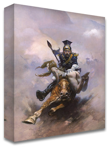 Frazetta Girls, LLC Art Print Fine art print / Semi-matte photo print / 16x20 Flashman at The Charge Print