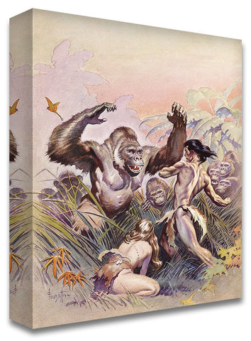 Frazetta Girls, LLC Art Print Fine art print / Semi-matte photo print / 16x20 Tarzan #2 Print