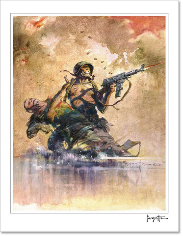 Frazetta Pillow Book- Plate 5- Print