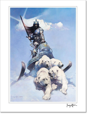 "Frazetta ""Death Dealer I"" V1 Full Graphic T-Shirt"