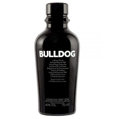 Bulldog London Dry Gin,  Volum 0.7L