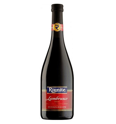 Riunite Lambrusco Rosu, Volum 0.75L