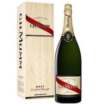 GH Mumm Cordon Rouge 12% Mathusalem (Wooden Case) 6L