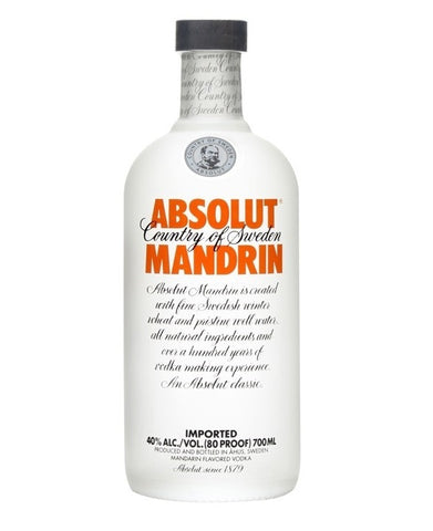 ABSOLUT Vodka Mandrin, Volum 0.7L