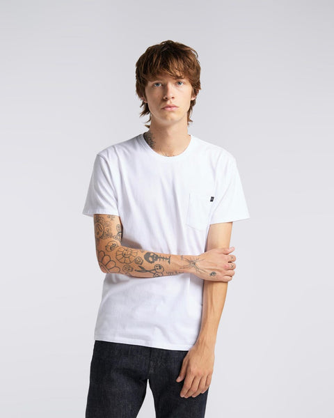 Pocket T-Shirt White | Edwin