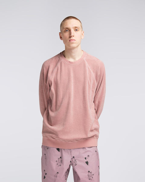Van Crew Sweat Pink | Edwin