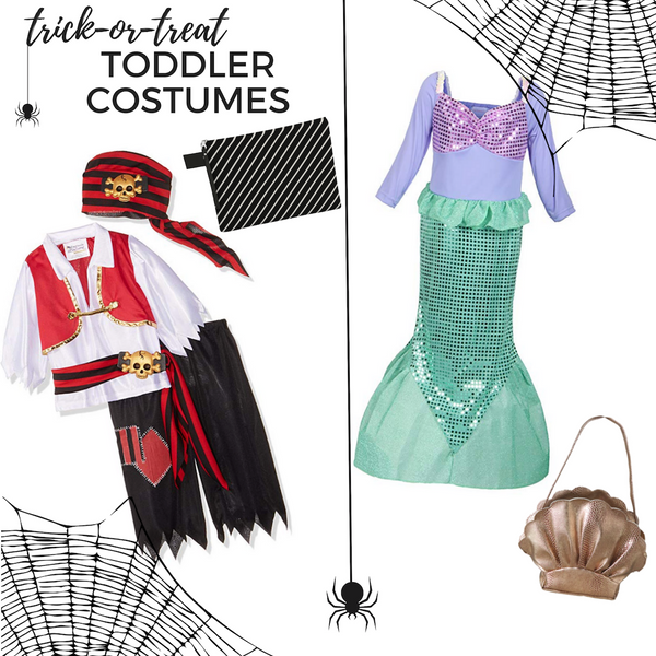 Trick- or- Treat Toddler Costumes